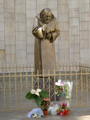 Click to view full size image  ==============  Padre Pio monument