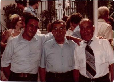 Click to view full size image  ==============  Roseti brothers  My great Uncle Turillo, Grandfather Pietro & Great Uncle Vincenzo (aka Jimmy)